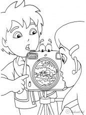 hello kitty camera coloring page printable coloring pages