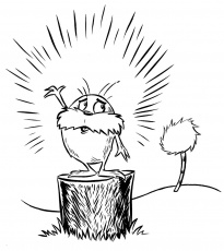Printable Lorax Coloring Pages | Coloring Me