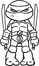 Ninja Turtles Coloring Pictures To Print - Coloring Page