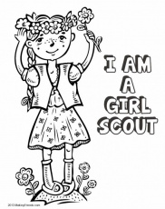 Girl Scout Daisy Printables Patterns Girl Scout Cookies Coloring