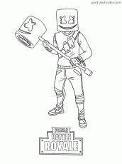 Fortnite coloring pages to print | Coloring Pages