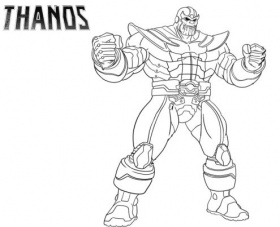 Fortnite Coloring Pages Thanos - Coloring Page Base