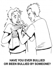 free printable bullying coloring pages anti bullying coloring with bullying coloring pages