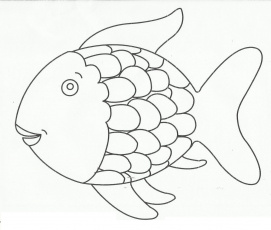 Fish With Scales Round Coloring Pages For Kids #cDc : Printable ...