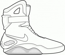 Jordan Shoe Coloring Sheets Pages Printable For Kids –  Approachingtheelephant