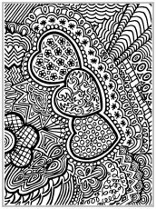 Free Printable Adult Coloring Pages Unique Abstract Image 20 ...