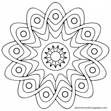 mandala coloring pages printable free kids