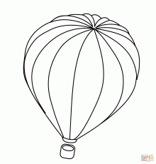 Hot Air Balloon coloring page | Free Printable Coloring Pages