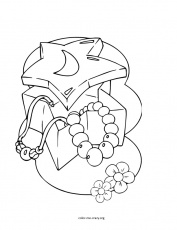 Coloring Pages Of Jewels - Best Coloring Pages Collections