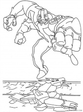 four arms ben 10 coloring pages Coloring4free - Coloring4Free.com