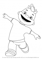 Gerald - Sid The Science Kid Coloring Page