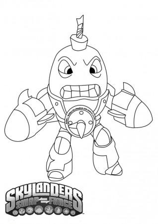 Free Skylanders Ninjini Coloring Page - VoteForVerde.com ...