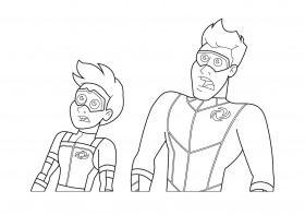 Henry danger coloring pages | 9999++ | Printable coloring ...