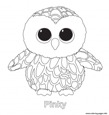 Coloring Pages Ty Beanie Boo Coloring Pages Sparkles Coloring Home