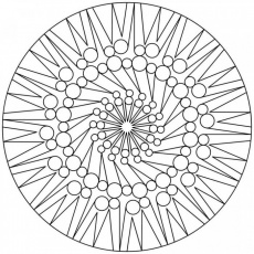 Mandala Coloring Pages Expert Level - Symbol Coloring Pages of The