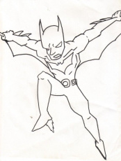 Batman Beyond Coloring Pages Coloring Pages For Adults Coloring