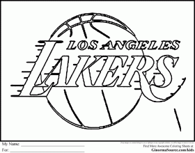 Nba Logo Coloring Pages Basketball Coloring Pictures Basketball