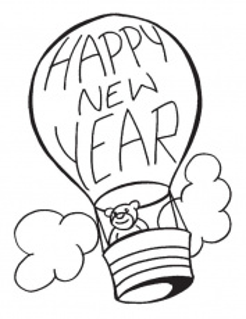 hot air balloon coloring page pdf - hot air balloons coloring pages coloring home