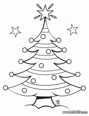 Christmas Tree Coloring Pages - Picture 25 – Christmas Tree