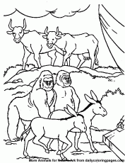Noah's Ark Bible Coloring Sheets