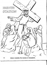 stations of the cross for children coloring pages