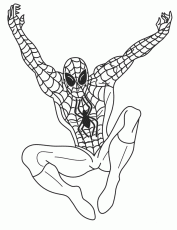 spiderman color pages for kids | Online Coloring Pages