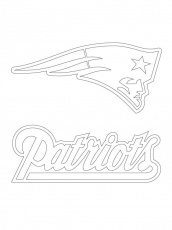 New England Patriots Coloring Pages Page 1