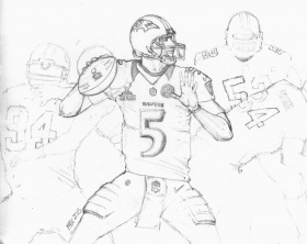 Baltimore Ravens Coloring Pages (16 Pictures) - Colorine.net | 6763