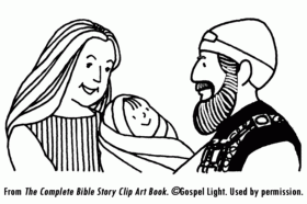 John The Baptist And Coloring Pages