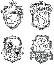 Tags] | Harry potter colors, Harry potter houses crests, Harry potter  coloring pages
