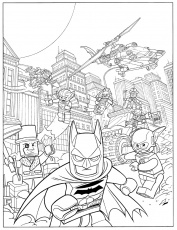 Batman Lego Coloring Pages Coloring Pages Gallery Lego Batman ...