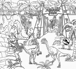 9 Pics of LEGO Jurassic Park Coloring Pages - World Jurassic Park ...