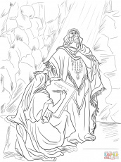 King Josiah Scroll coloring page | Free Printable Coloring Pages