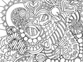 free printable adult coloring books pages for personal use adult ...