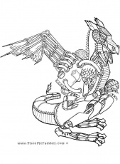 Dragon coloring page, Coloring pages ...pinterest.com