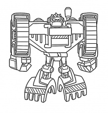 Rescue Bots Coloring Pages For Kids And