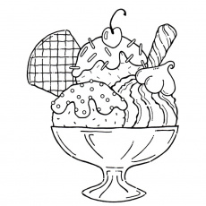 Dessert Coloring Pages - Best Coloring Pages For Kids