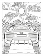 Audi and Mercedes release coloring pages to battle quarantine boredom -  Business Insider