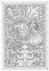 really  hard coloring pages to print