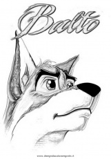Balto Coloring Pages Printable High Quality Coloring Pages