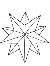 Pictures A Nice Christmas Star Coloring Pages - Christmas Coloring
