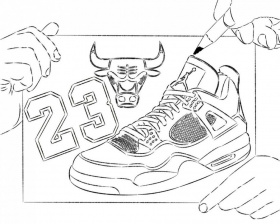 Coloring Pages Of Michael Michael Jordan Coloring Pages 195469