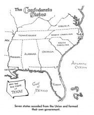 Civil War Map Coloring Page - Coloring Pages For All Ages