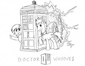 Pin Doctor Whooves Coloring Page Wonderbolt Derpy Hooves By On