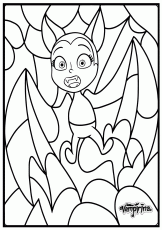 Printable Disney Bat Vampirina Coloring Pages