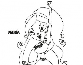 La Muerte Book Of Life Coloring Pages | Printable coloring book, Coloring  books, Coloring pages