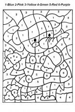 number coloring pages number coloring pages 1 10 worksheets free ...