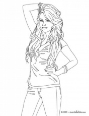 selena gomez coloring pages coloring pages coloring home