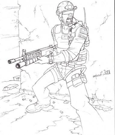 Coloriage de call of duty black ops 2 a imprimer coloriage for Black ops coloring pages