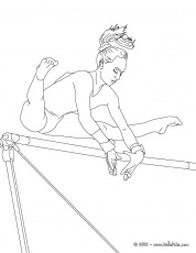 GYMNASTICS coloring pages - UNEVEN ...pinterest.com